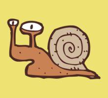 Cute funny cartoon snail Kids Tee