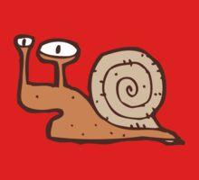 Cute funny cartoon snail One Piece - Long Sleeve