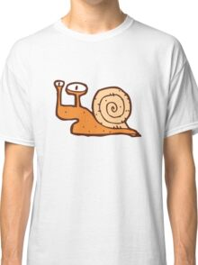 Cute funny cartoon snail Classic T-Shirt