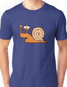 Cute funny cartoon snail Unisex T-Shirt