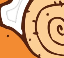 Cute funny cartoon snail Sticker