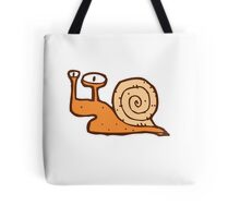 Cute funny cartoon snail Tote Bag