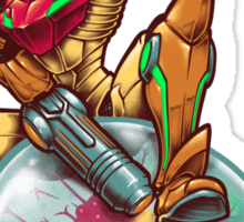 Strangemetroid Sticker