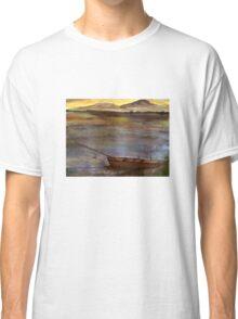 Canoe at Sunset Classic T-Shirt
