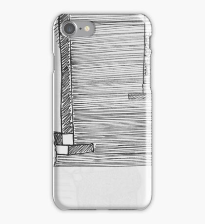 Reportage Sketch: Facets Opening Reception Twenty-Two 12-23-16 iPhone Case/Skin