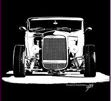 1932 Roadster (B&W) by blulime
