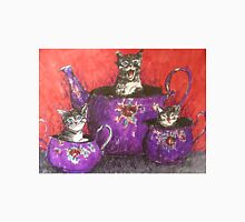 Crazy teapot cats Unisex T-Shirt