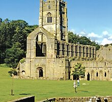 Fountains Abbey11 by Priscilla Turner