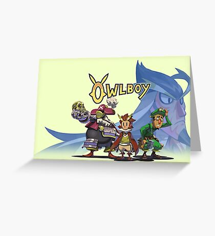 OwlBoy - Logo Greeting Card