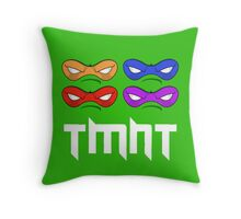 TMNT - Teenage Mutant Ninja Turtles - MASK Throw Pillow