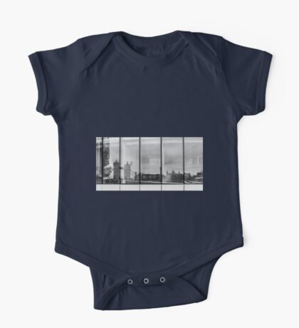 Tower Reflection One Piece - Short Sleeve