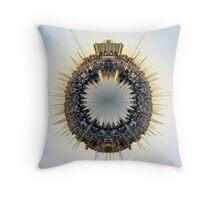 Marina World Throw Pillow
