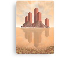 Red Fortress Canvas Print
