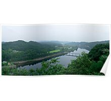 Daechong Lake In Chungcheong Province, South Korea Poster