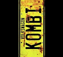 Kombi -  License Plate by blulime