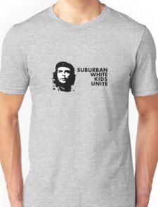 Suburban White Kids Unite Unisex T-Shirt