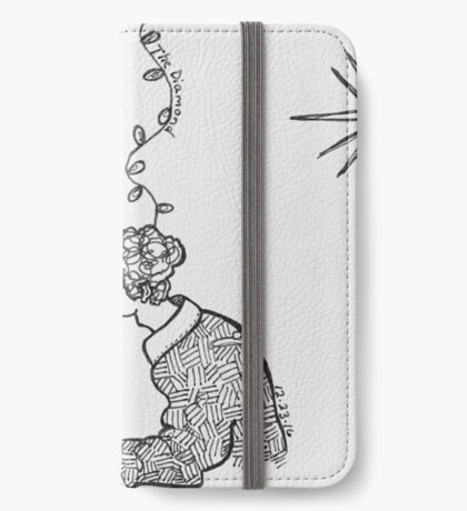 Reportage Sketch: The Diamond 12-23-16 iPhone Wallet/Case/Skin