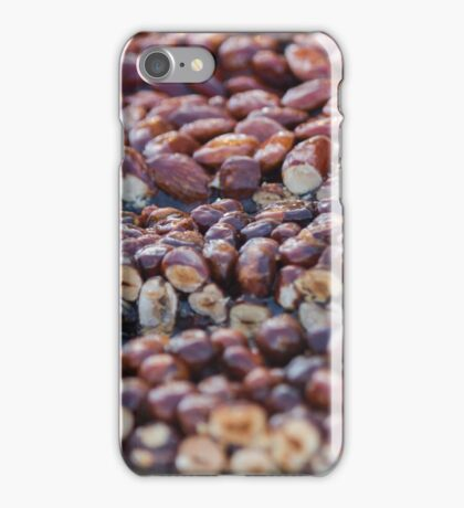 crunchy hazelnuts iPhone Case/Skin