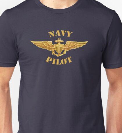 Navy Pilot Wings T-shirt Unisex T-Shirt