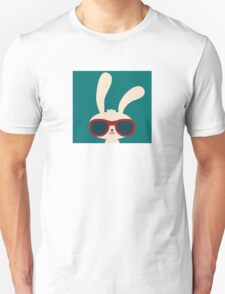 Cool easter bunny with sunglasses T-Shirt