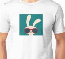 Cool easter bunny with sunglasses Unisex T-Shirt