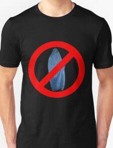 Banned Burka Image T-Shirt