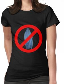 Banned Burka Image Womens Fitted T-Shirt