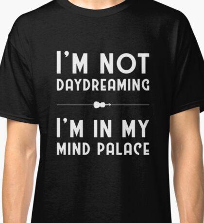Sherlock, Mind Palace (B&W) Classic T-Shirt