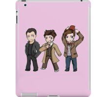 Superwholock - Doctor Who Chibis iPad Case/Skin