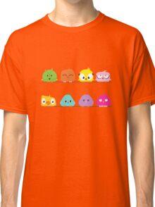 Cute funny cartoon birds Classic T-Shirt