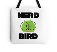 Nerd Bird with glasses Tote Bag
