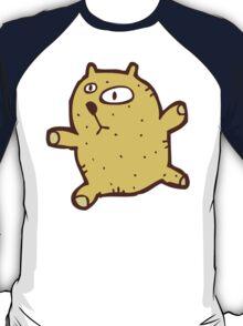 Sketchy cartoon teddy bear T-Shirt