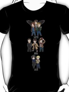 Superwholock Chibis T-Shirt