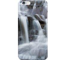 Blue mountain cascades iPhone Case/Skin