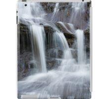 Blue mountain cascades iPad Case/Skin
