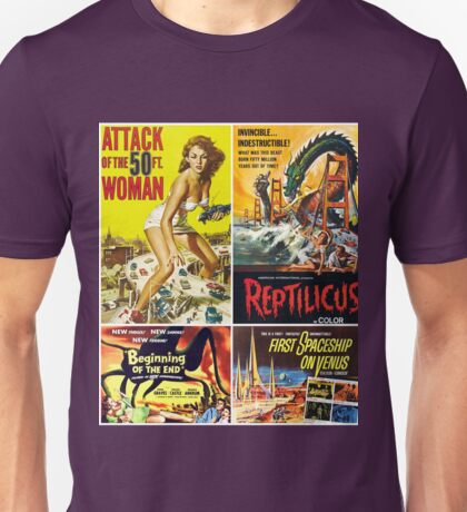 Sci-Fi Movie Poster Collection #10 Unisex T-Shirt