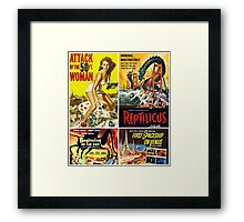 Sci-Fi Movie Poster Collection #10 Framed Print
