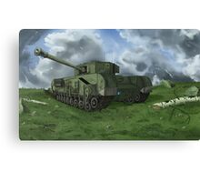 Churchill Tank Canvas Print