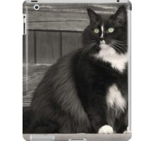 Zoe sitting iPad Case/Skin