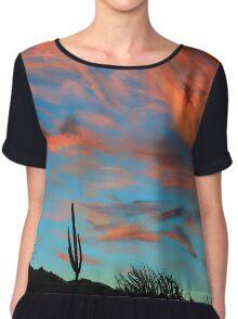 Desert Sky Chiffon Top