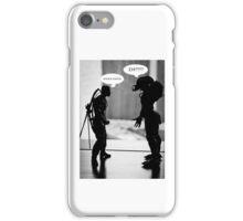 knock knock iPhone Case/Skin