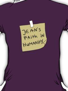 Jean's Faith in Humanity T-Shirt