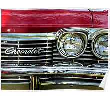 Chevrolet Impala Grill Poster