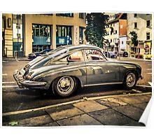 Porsche 356 Oldtimer Poster