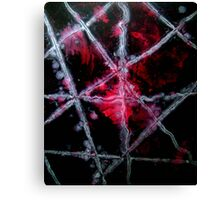 No Strings Abstract Love Painting Canvas Print
