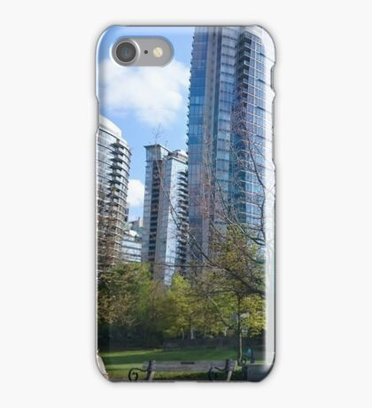 Downtown Vancouver iPhone Case/Skin