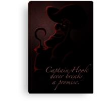 Villains inspired design (Captain Hook). Canvas Print