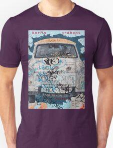 Berlin Trabant Car On The Berlin Wall Unisex T-Shirt