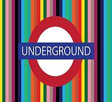 London Underground by ArtfulDoodler