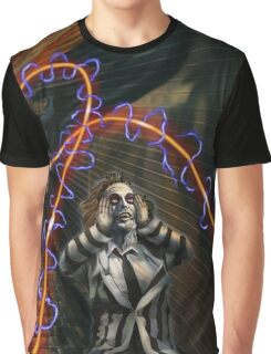 Busted Beetlejuice Graphic T-Shirt